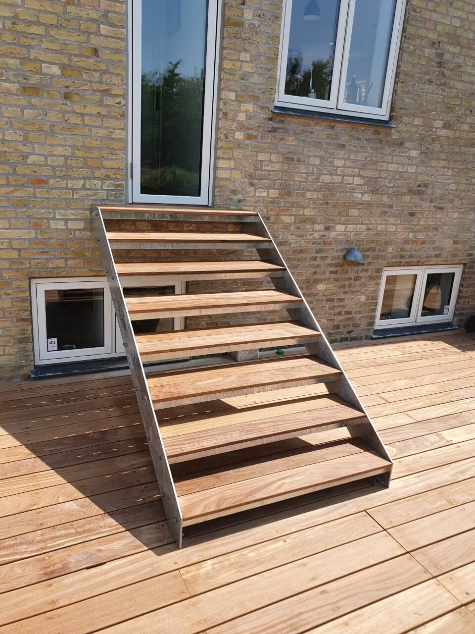 Terrassetrappen giver udgang til din terrasse